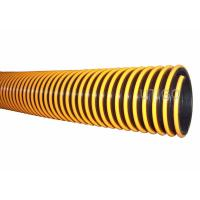 Wholesale PVC suction hose with corrugated rigid pvc helix from china suppliers