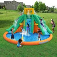 Wholesale Kids PVC Giant Inflatable Water Slide With Swimming Pool SGS Certification from china suppliers
