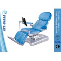 Wholesale foldable Hospital Multi purpose Electric Dialysis Chairs With Screen Holder from china suppliers