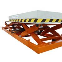 Wholesale 1.2m industrial Stationary Scissor Lift , aerial hydraulic lifting platform for Work Shop from china suppliers