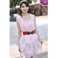 Wholesale Fashion Elegant Chiffon Belt Skirt (503-101) from china suppliers
