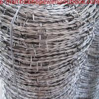 Buy cheap barbed wire with low price/electro barbed wire/High Quality Galvanized Concertina Barbed Wire Price Per Roll from wholesalers