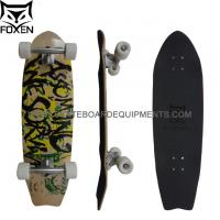 """Wholesale Customized 100% Canadian Maple Skateboard, 33*9 Inch Completes Kareboard with 6"""" Scrub Paris Truck from china suppliers"""