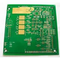 Wholesale Gold touch printed circuit board , metal core pcb fabrication ROHS from china suppliers