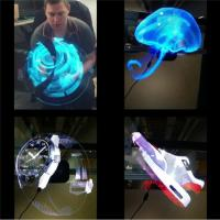 Wholesale Cheap Electronic 42cm Diameter hologram projector 3D LED Holographic advertising display fan from china suppliers