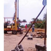 Quality Popular 300mm water borehole drilling machine drilling on hard rock and soft formation for sale