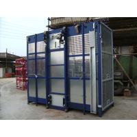Wholesale Blue SC200 / 200 Twin Cage 3200kg Personnel Hoist and Material Lifts for Mining Wells from china suppliers