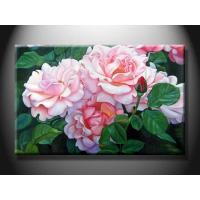 Wholesale Hotel Decorative Landscape Paint Handmade Oil Painting with Flower XSHH103 from china suppliers