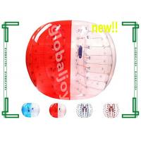 Wholesale Human Inflatable Bumper Ball , Clear Zorb Ball Soccer Bumper Football from china suppliers