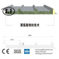 Buy cheap Fireproof Rockwool Sandwich panel for Roof from wholesalers