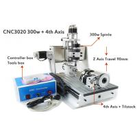 Wholesale 4 Axis Z Axis Travel 90mm Mini 30*20mm CNC Router Drilling Milling Machine 3D CNC Router from china suppliers