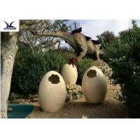 Wholesale Animatronic Giant Dinosaur Eggs Models For Jurassic Park Decoration 5 Meters from china suppliers