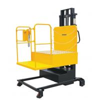 Wholesale Electric forklift truck Scissors type lift platform with a table from china suppliers