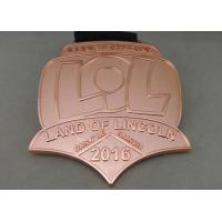 Wholesale Die Stamping Skate Awards Die Cast Medals , Zinc Alloy Marathon Medals from china suppliers