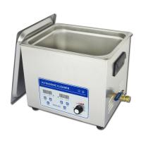 Wholesale Adjustable Power Benchtop Ultrasonic Cleaner 10liter Hardware Oil Removal from china suppliers
