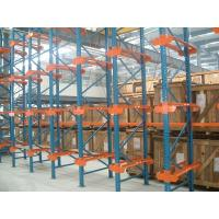 Wholesale Dairy industry Single bracket drive in rack with stock movement , 10M from china suppliers