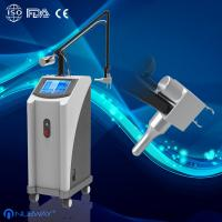 Wholesale 40W 10600nm Glass pipe Skin resurfacing Fractional CO2 Laser machine skin rejuvenation from china suppliers