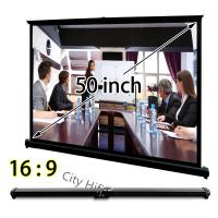 """Wholesale Ultra Portable Tabletop Projection Screen 50""""  For Office Meeting from china suppliers"""