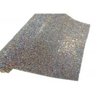 Wholesale Elastic Fabric Backing Silver Glitter Fabric Soft And Sparkle Material from china suppliers