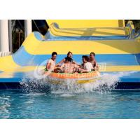 Wholesale Strong Quanlity Custom Water Slides , Amusement Park Boomerang Aqua Slide For 2 People in Gaint Aqua Park from china suppliers