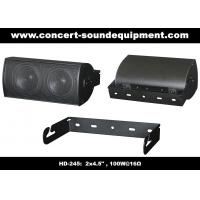 "Wholesale 91dB Conference Audio Systems 16ohm 100W 2x4.5"" Aluminium Speaker With Wall Bracket from china suppliers"