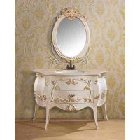 Wholesale Moisture Proof Vanity Combo Bathroom Cabinet With Mirror French Furniture from china suppliers