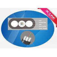 Buy cheap PE Sheath Drop Cable 2-12 Core Fiber Optic Ethernet Cable FTTH Cable from wholesalers