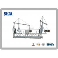 Wholesale Steel Construction Swing Stage Scaffolding With Suspended Platform from china suppliers