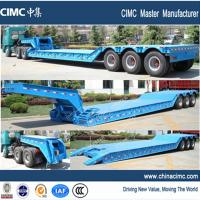 Wholesale goose neck detachable low loader trailer for sale from china suppliers