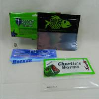 Wholesale Glossy Finish Fishing Lure Pouches Foil Ziplock Bags Environmental Protection from china suppliers