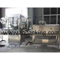 Wholesale Full-automatic label sleeving machine for Water Beverage Bottle from china suppliers