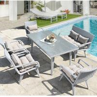 Wholesale Outdoor Cheap Resin Wicker Poly Rattan Garden Home Furniture Sectional Lounge Sofa Gray Furniture from china suppliers