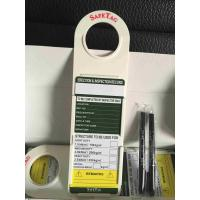 Wholesale Safety PVC / ABS Plastic Scaffolding Tag Holder For Lockout Tags Inserrt from china suppliers