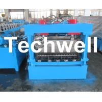 Wholesale 1250mm Material Width, Steel Metal Corrugated Panel Forming Machine With Punching from china suppliers