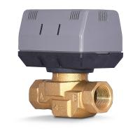 Wholesale 2 Way / 3 Way Brass Motorized Zone Valve 1.6MPA For Cold And Hot Water from china suppliers