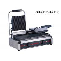 Wholesale Stainless Steel Contact Griller Single / Double Heads Sandwich Grill Machine from china suppliers