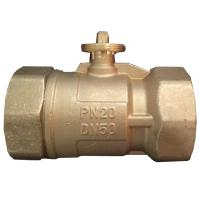 Wholesale OEM & ODM 3 Way Electric Ball Valve , Brass Electric Actuated Ball Valve from china suppliers