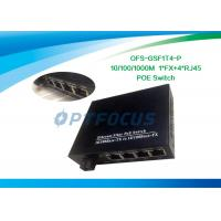 Wholesale 10/100Mbps Power Over Ethernet POE 5 Port Gigabit 1310nm 20KM 18dBm UTP cable from china suppliers