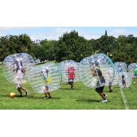 Wholesale Popular Dot Inflatable Loopy Ball Transparent / Customized human hamster balls from china suppliers