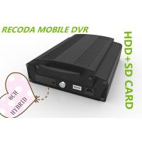 Wholesale Hybrid 8CH 1080P HDD SD card HD Mobile DVR vehicle video recorder 3G GPS WIFI from china suppliers
