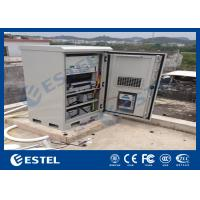 Wholesale Industrial Outdoor UPS Battery Cabinet , Base Station Cabinet Rainproof Energy Saving from china suppliers