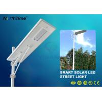 Buy cheap IP65 70W LED Solar Powered Street Lights With Lithium Battery 50AH & Motion Sensor from wholesalers
