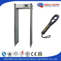 Wholesale Waterproof Walkthrough Metal Detector Gate 33 Detecting Zones In Built Battery from china suppliers