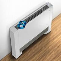Quality Floor Standing Fan Coil with 130mm Thickness and 25dB Super Quiet for sale