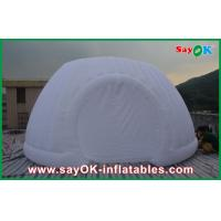 Wholesale Strong Oxford Cloth Inflatable White Air Tent , Commercial Inflatable Roundness Tent from china suppliers