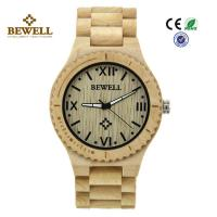 Wholesale Unique 100% Pure Natural Mens Ladies Wooden Watch Water Proof Non Toxic from china suppliers