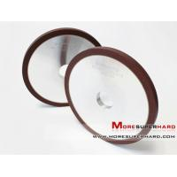 Buy cheap Resin bond CBN grinding wheel for sharpening steel blades with heat treatment Sarah@moresuperhard.com from wholesalers
