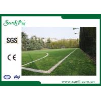 Wholesale Professional Football Artificial Grass , PE Garden Artificial Turf from china suppliers
