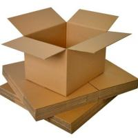 Quality Waterproof Small Corrugated Kraft Box / Carton Box For Eyewear Packaging for sale