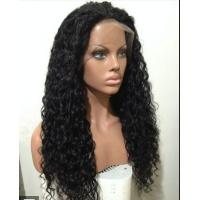 Wholesale Mixed Color 100% Peruvian glueless human hair full lace wigs With Combs / Straps from china suppliers